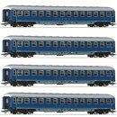 ROCO 64187 - Spur H0 DB Reisezugwagen vierachsig blau...