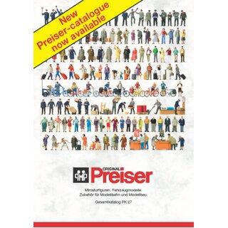 """Preiser 93059 - Preiser """"Katalog PK 27"""""""