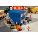 Faller 130134 - 1:87 4 Baucontainer, blau