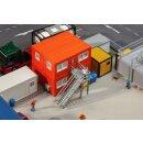 Faller 130135 - 1:87 4 Baucontainer, orange