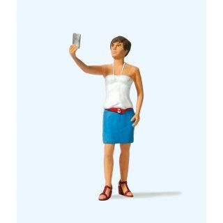 """Preiser 45524 - Einzelfigur 1:22,5 """"Selfie"""""""