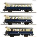 ROCO 74094 -- Spur H0 ÖBB Spantenwagen blau/beige...