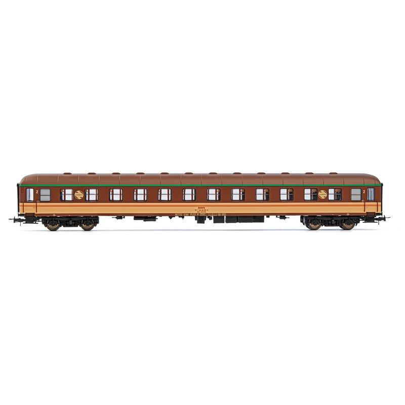 2.Kl.Estrella-Lackierung RENFE Ep. Electrotren 4-achs Reisezugwagen BB 12200