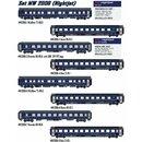 LS Models MW2006 - Spur H0 8tlg. Wagenset NIGHTJET NJ424...
