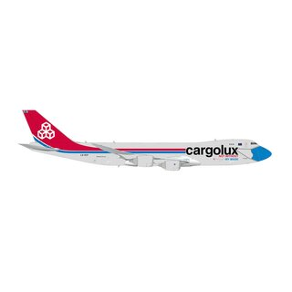 Herpa 571272 -- 1:200 Cargolux Boeing 747-8F Not Without My Mask   *** 15 J MoMoBa ***