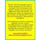 Alphamodell 5720 -- Spur H0e ÖBB Hauptsignal grün/rot/gelb Schmalspur