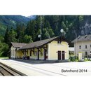 IGRA MODEL 212001 -- Spur N Lasercut-Bausatz Bahnhof...