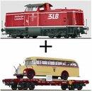 Brawa/Liliput SLB-Bundle 2 - Spur H0 SLB Diesellok V 86...