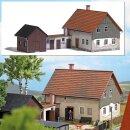 Busch 1909 - 1:87 Wohnhaus mit Nebengelass H0