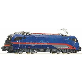 """ROCO 70522 - Spur H0 ÖBB Elektrolok 1216 012-5 """"nightjet"""" Ep.VI   MOTRAXX-Motor"""