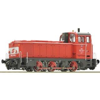 ROCO 72911LK -- Spur H0 ÖBB Diesellok 2067.004-8 Ep.V  ROCO-Motor, Leo-Sound-Update auf Zimo Onboard-Decoder, Fernlicht Energiespeicher, ROCO Digitalkupplungen