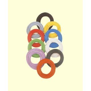 Brawa 3101 - Litze 0,14 mm², 10 m Ring, gelb