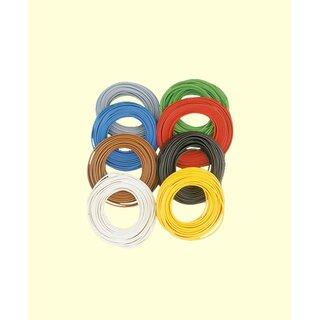 Brawa 3121 - Zw.-Litze 0,14 mm², 5 m Ring, gelb