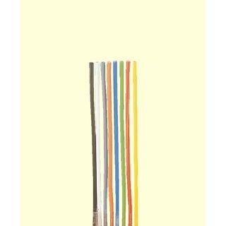 Brawa 3221 - Litze 0,50 mm², 40 m Spule, gelb