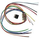 Fleischmann 69685403 - DCC-Decoder mit RailCom mit 6 Litzen