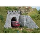 Auhagen 11342 - 1:87 Tunnelportale eingleisig 155 x 110...