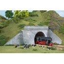 Auhagen 11343 - 1:87 2 Tunnelportale zweigleisig 202 x...