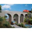 Auhagen 11344 - 1:87 Eisenbahnbrücke 410 x 65 x 165...