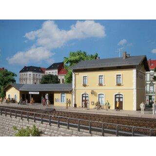 Auhagen 11369 - 1:87 Bahnhof Plottenstein 420 x 180 x 130 mm
