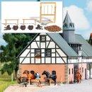 Busch 1027 - 1:87 Reiterhof-Ausgestaltung