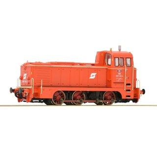 ROCO 72908 - Spur H0 ÖBB Diesellok 2067.010-5 blutorange Pflatsch Ep.V überarbeitetes Fahrwerk mit tauschbarem ersten Radsatz mit Haftreifen, Plux-Schnittstelle