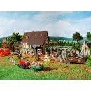 Vollmer 43009 - 1:87 Herbstfest mit Kürbisstand  ***...