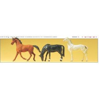 "Preiser 65323 - Figurensatz 1:43/1:45 ""Pferde"""