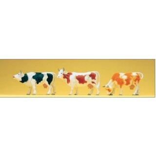 """Preiser 65324 - Figurensatz 1:43/1:45 """"Kühe"""""""