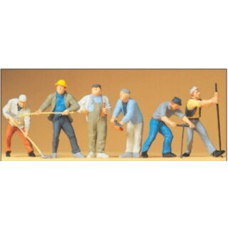 "Preiser 65331 - Figurensatz 1:43/1:45 ""Bauarbeiter"""
