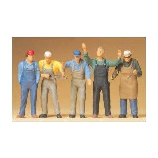 """Preiser 65332 - Figurensatz 1:43/1:45 """"Handwerker"""""""
