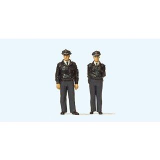 """Preiser 65364 - Figurensatz 1:43/1:45 """"Polizisten stehend. Blaue Uni"""""""