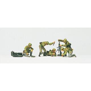 """Preiser 72517 - military unbemalter Bausatz 1:72 """"Granatwerfer im Gefecht. DR 1"""""""