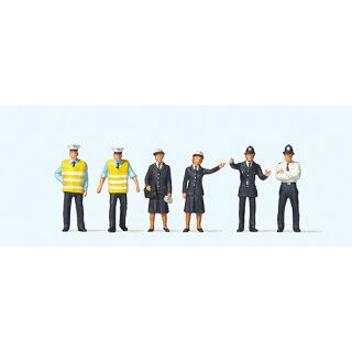 """Preiser 73004 - Figurensatz 1:76 """"Britische Polizei"""""""
