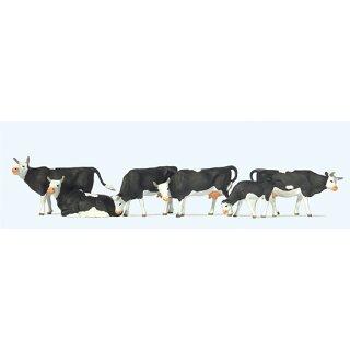 """Preiser 73013 - Figurensatz 1:76 """"Kühe"""""""