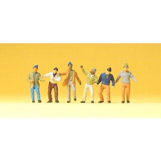 """Preiser 74008 - Figurensatz 1:100 """"Arbeiter"""""""