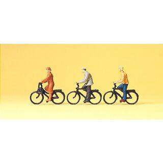 """Preiser 74011 - Figurensatz 1:100 """"Radfahrer"""""""