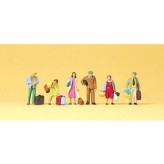 """Preiser 75001 - Figurensatz 1:120 """"Wartende Reisende"""""""
