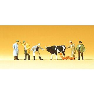 "Preiser 75021 - Figurensatz 1:120 ""Viehhandel"""