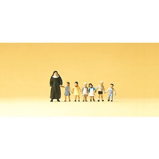 "Preiser 75029 - Figurensatz 1:120 ""Nonne. Kinder"""