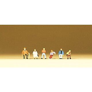 """Preiser 79054 - Figurensatz 1:160 """"Sitzende Personen"""""""