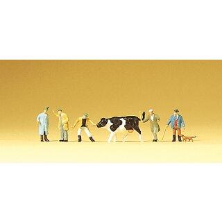 "Preiser 79080 - Figurensatz 1:160 ""Viehhandel"""