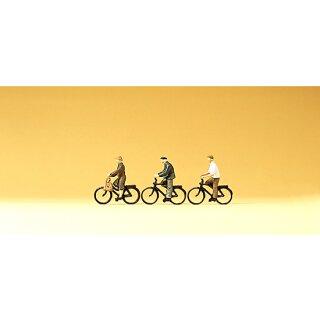"""Preiser 79087 - Figurensatz 1:160 """"Radfahrer"""""""