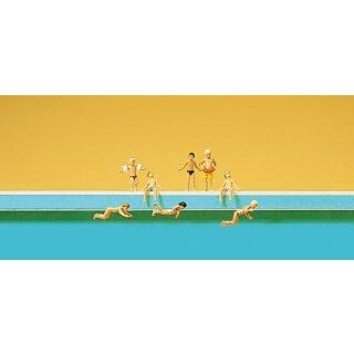 """Preiser 79091 - Figurensatz 1:160 """"Kinder im Schwimmbad"""""""