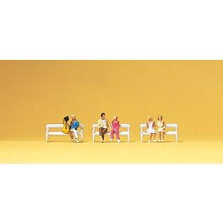 """Preiser 79092 - Figurensatz 1:160 """"Sitzende Paare"""""""
