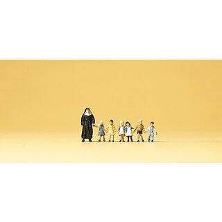 "Preiser 79127 - Figurensatz 1:160 ""Nonne. Kinder"""