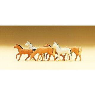 "Preiser 79150 - Figurensatz 1:160 ""Pferde"""