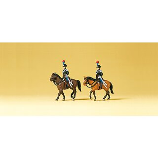 "Preiser 79151 - Figurensatz 1:160 ""Carabinieri zu Pferd. Italien"""