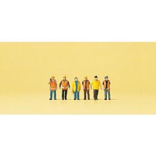 """Preiser 79154 - Figurensatz 1:160 """"Arbeiter in Sicherheitskleidu"""""""