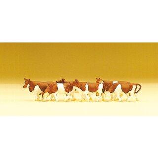 """Preiser 79155 - Figurensatz 1:160 """"Kühe"""""""