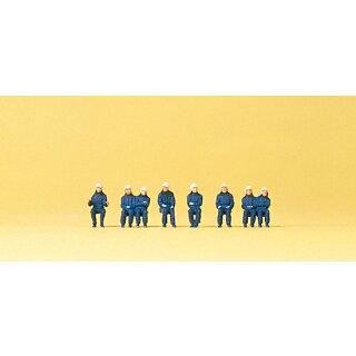 "Preiser 79172 - Figurensatz 1:160 ""Sitzende Feuerwehrleute"""